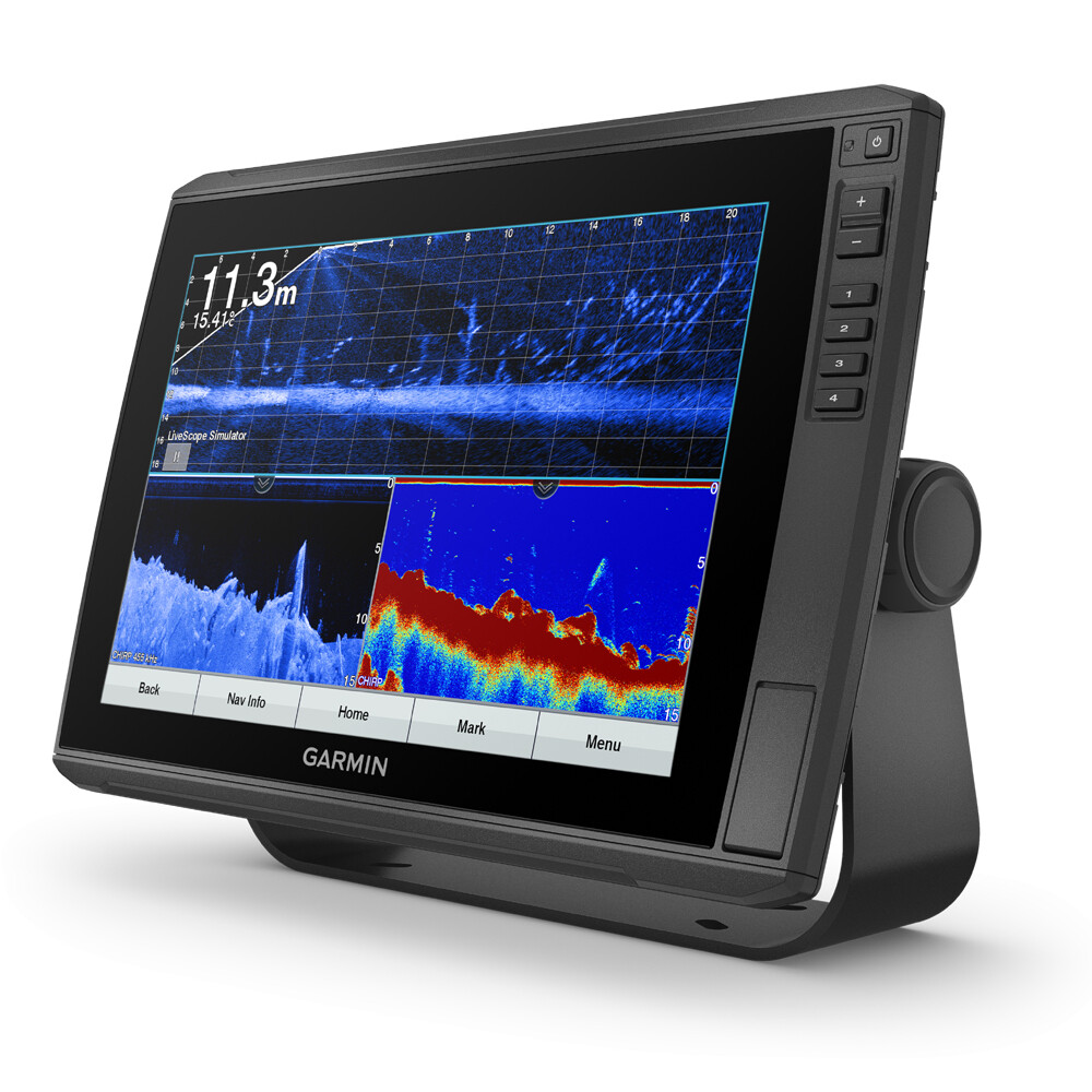 Echomap Ultra 122sv Chartplotter Fishfinder with Transducer