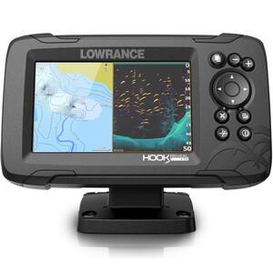 Hook Reveal 5 83_200 HDI Chartplotter Fishfinder Combo