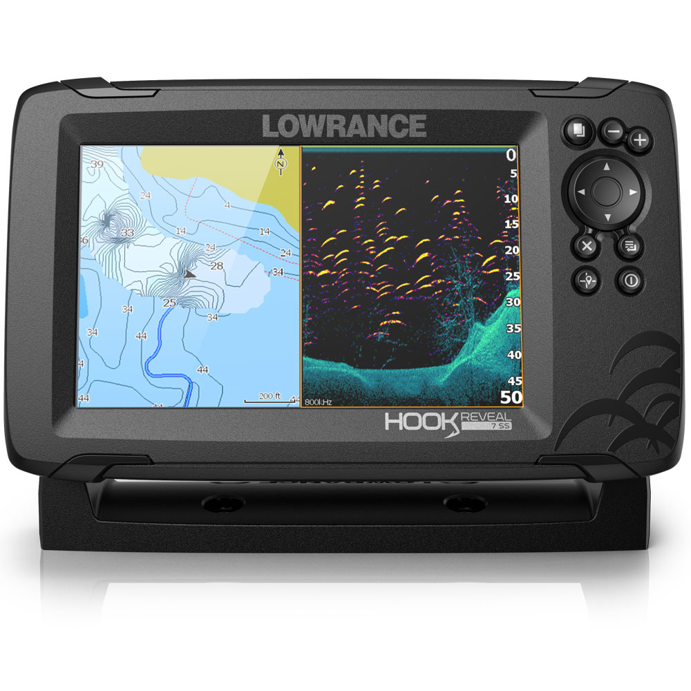Hook Reveal 7 50_200 HDI Chartplotter Fishfinder Combo