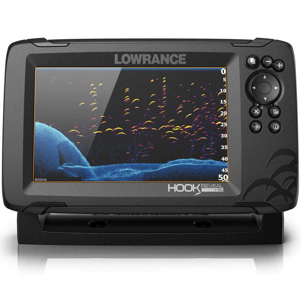 Hook Reveal 7 50_200 HDI Chartplotter Fishfinder Combo