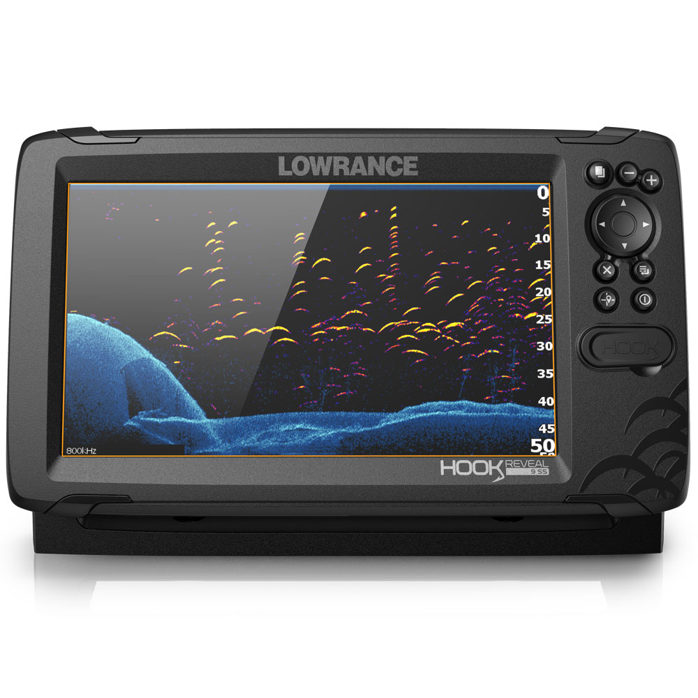 Hook Reveal 9 50_200 HDI Chartplotter Fishfinder Combo