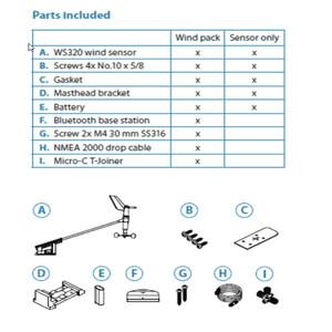 WS320 Wireless Wind Sensor With Interface
