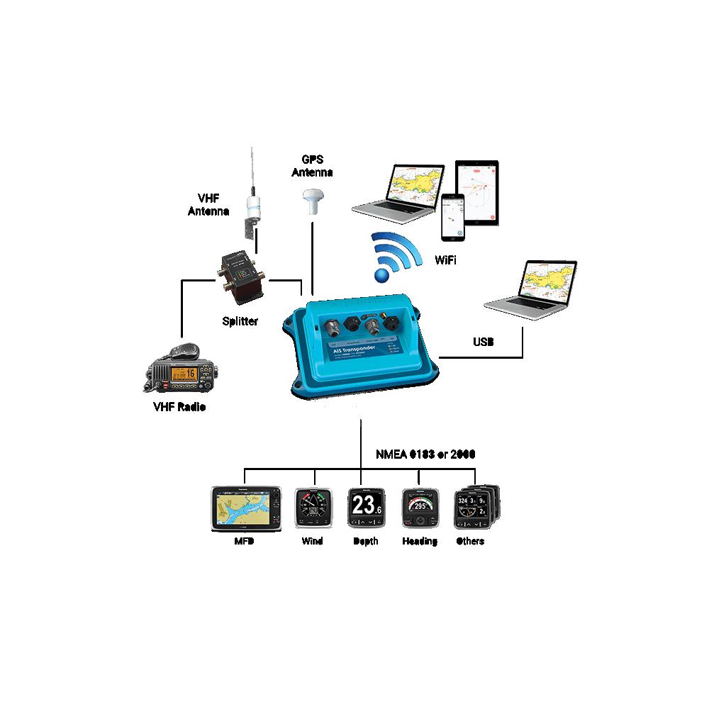 WatchMate XB-8000 SmartAIS Transponder