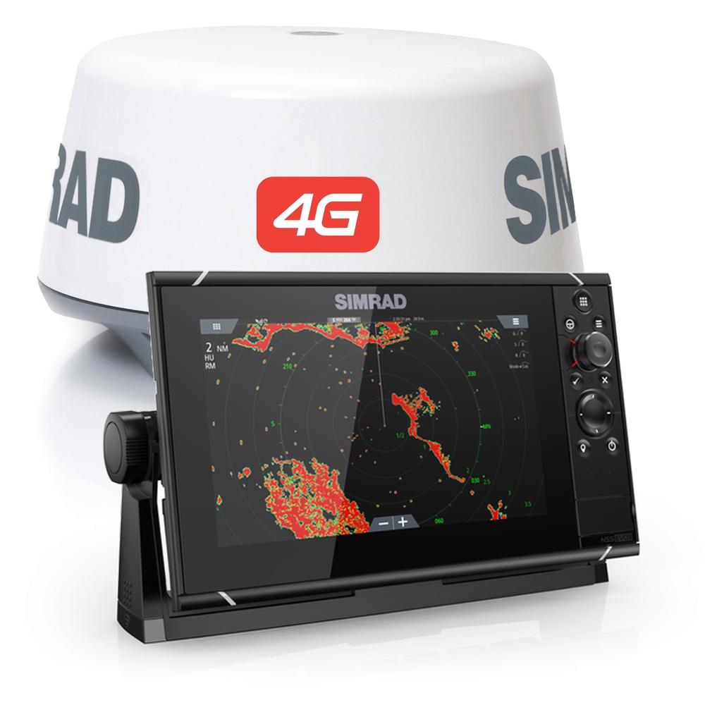 NSS9 evo3 MFD and 4G Radar Bundle