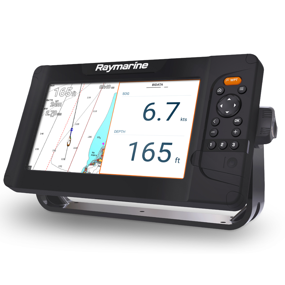 Element S Chartplotter With Navionics Silver EU Chart