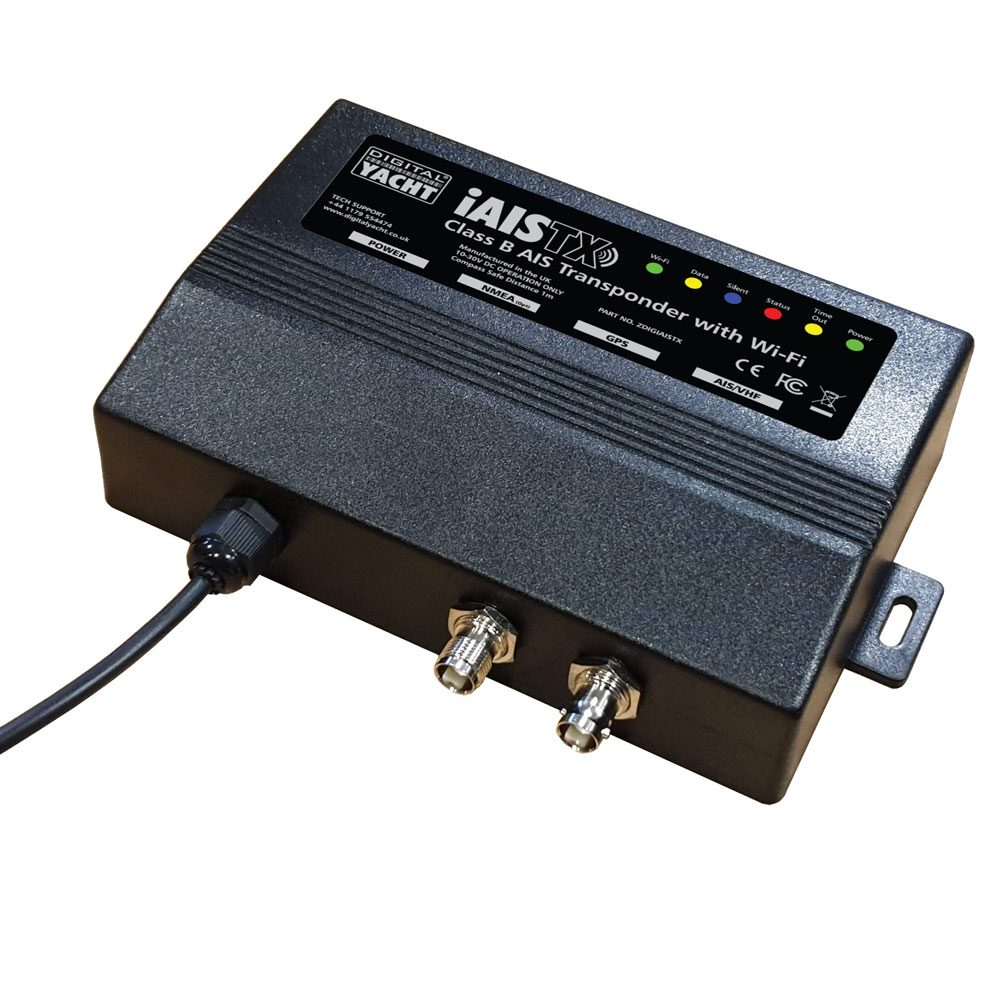 iAISTX CLASS B Wireless AIS Transponder