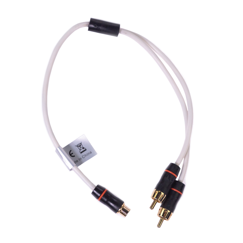 RCA Splitter Cable Female to Dual Male