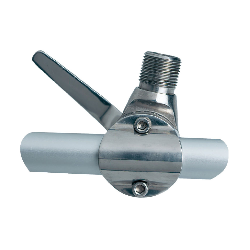 Stainless Steel Ratchet Rail Swivel Mount