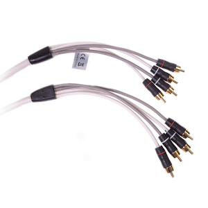 RCA 2 Zone 4 Channel Audio Cable