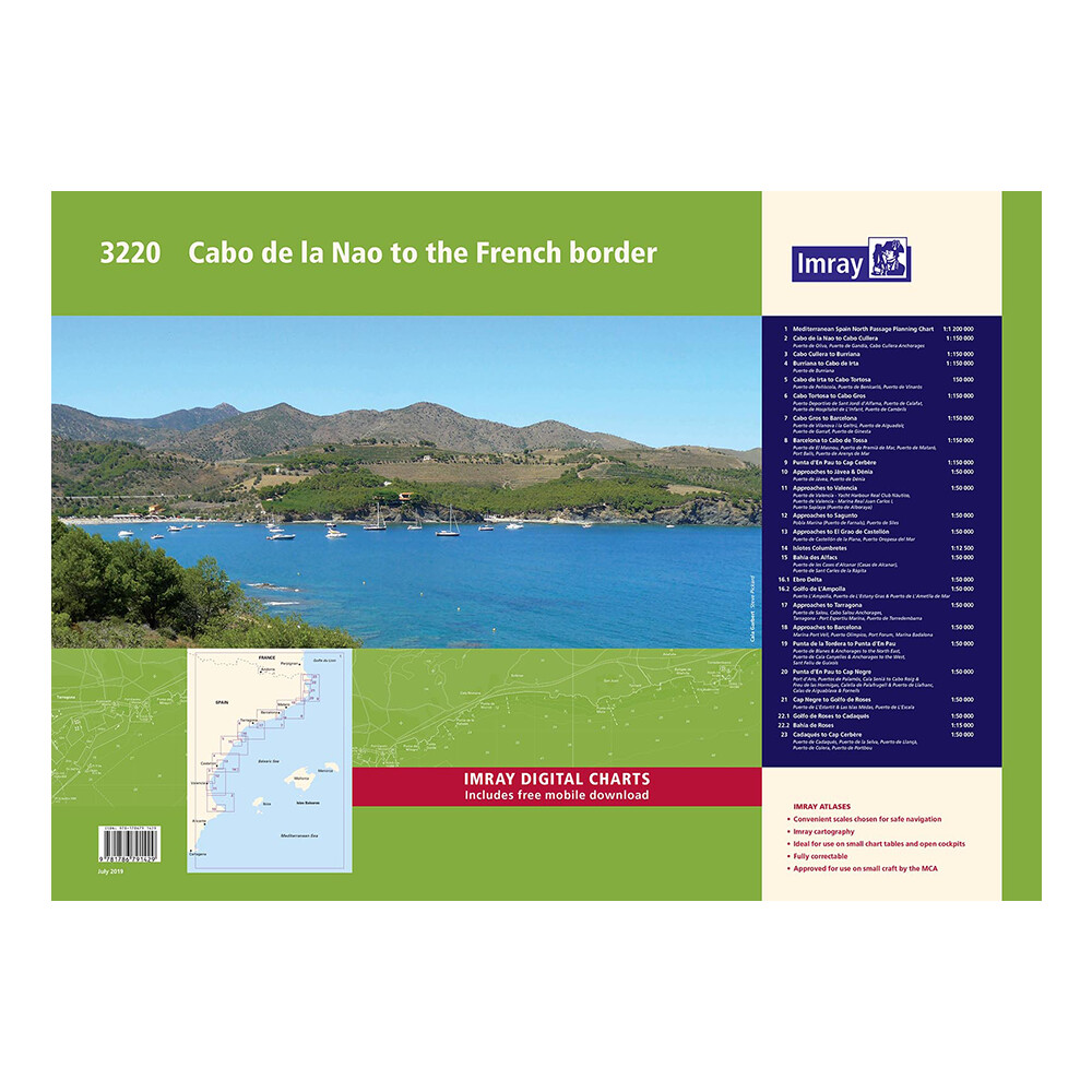 3220 Mediterranean Spain Chart Pack
