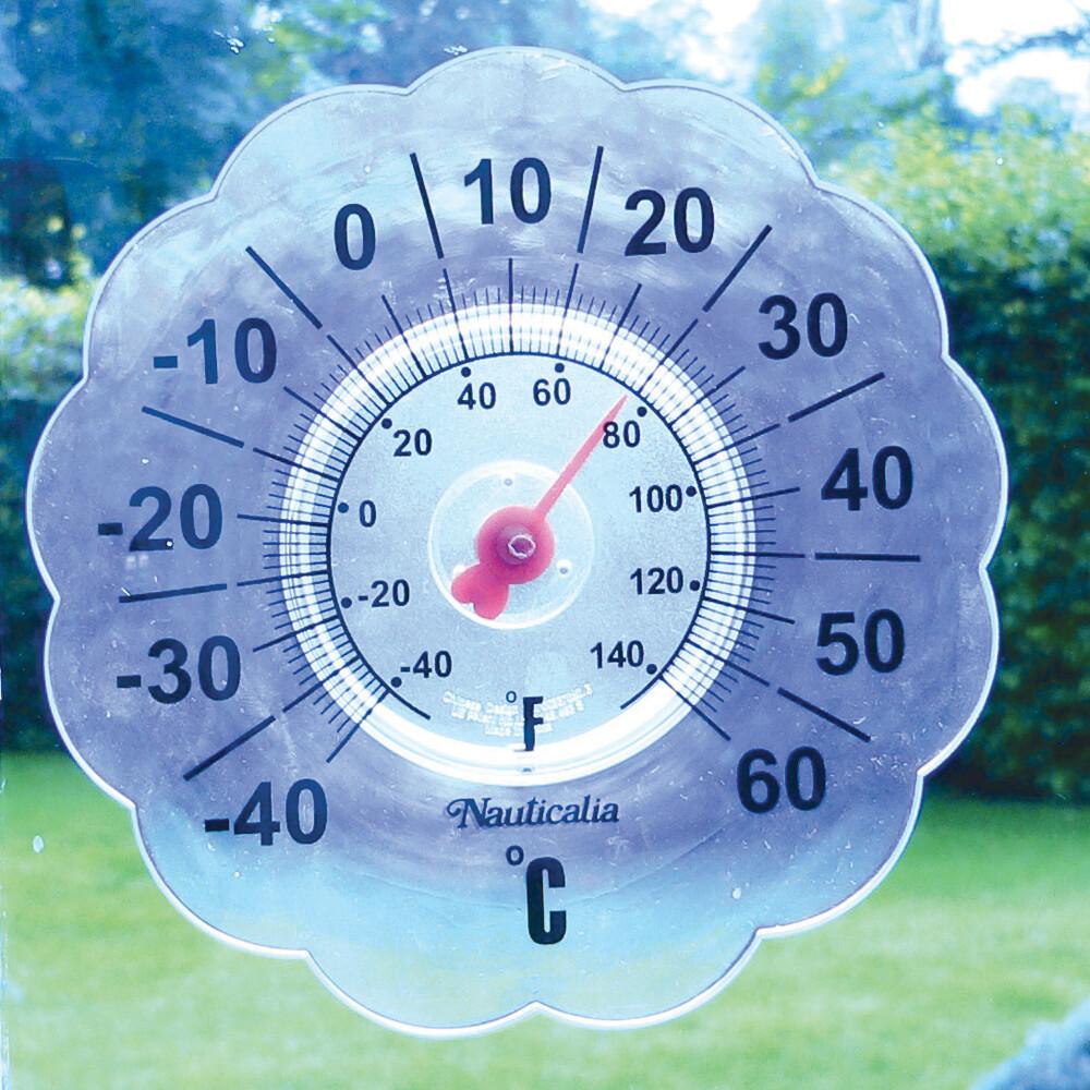 Window Pane Thermometer