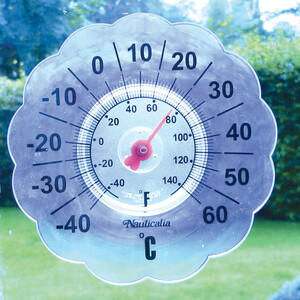 Window Pane Thermometer