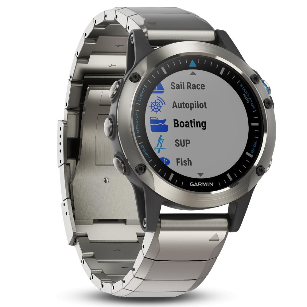 Quatix 5 Sapphire Marine GPS Watch