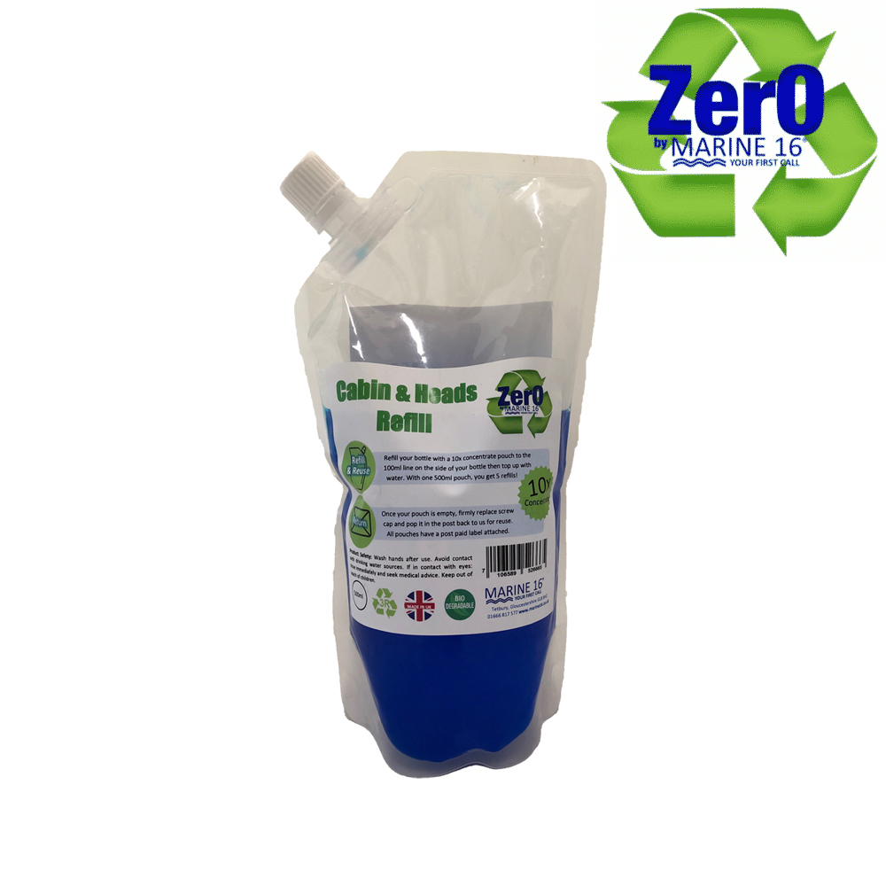 Cabin & Heads Cleaner Refill Pouch 500ml
