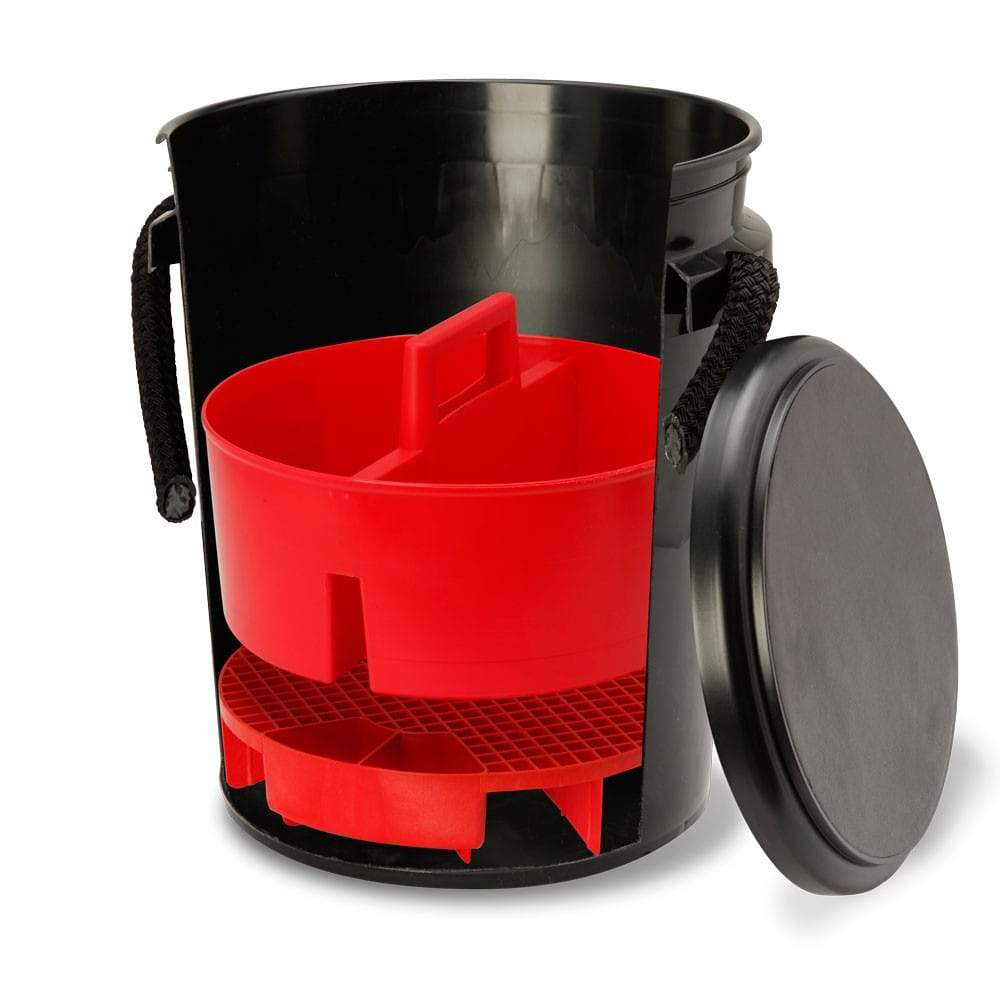 One Bucket System with Lid and Caddy