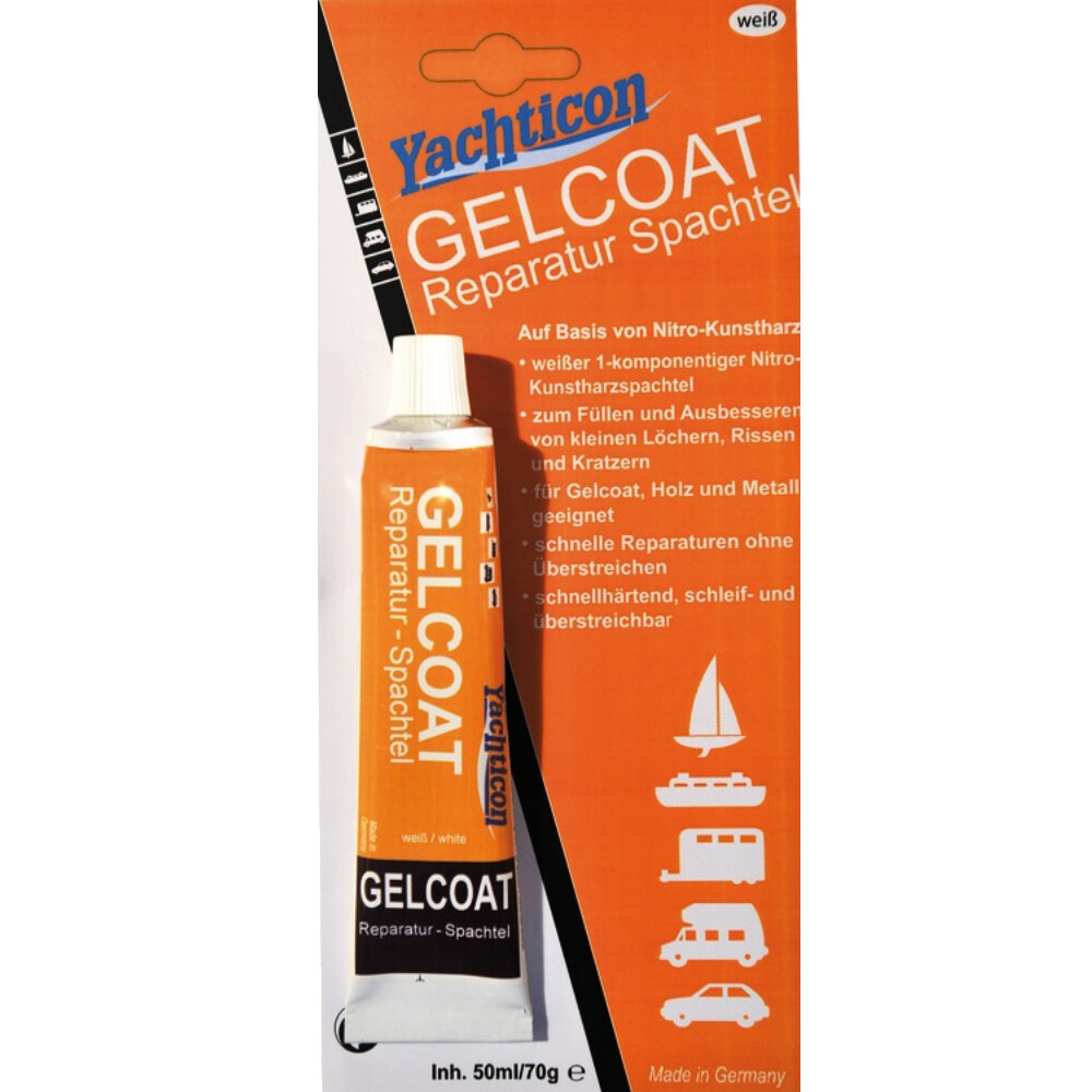 Gelcoat Filler 1 Part 70g White