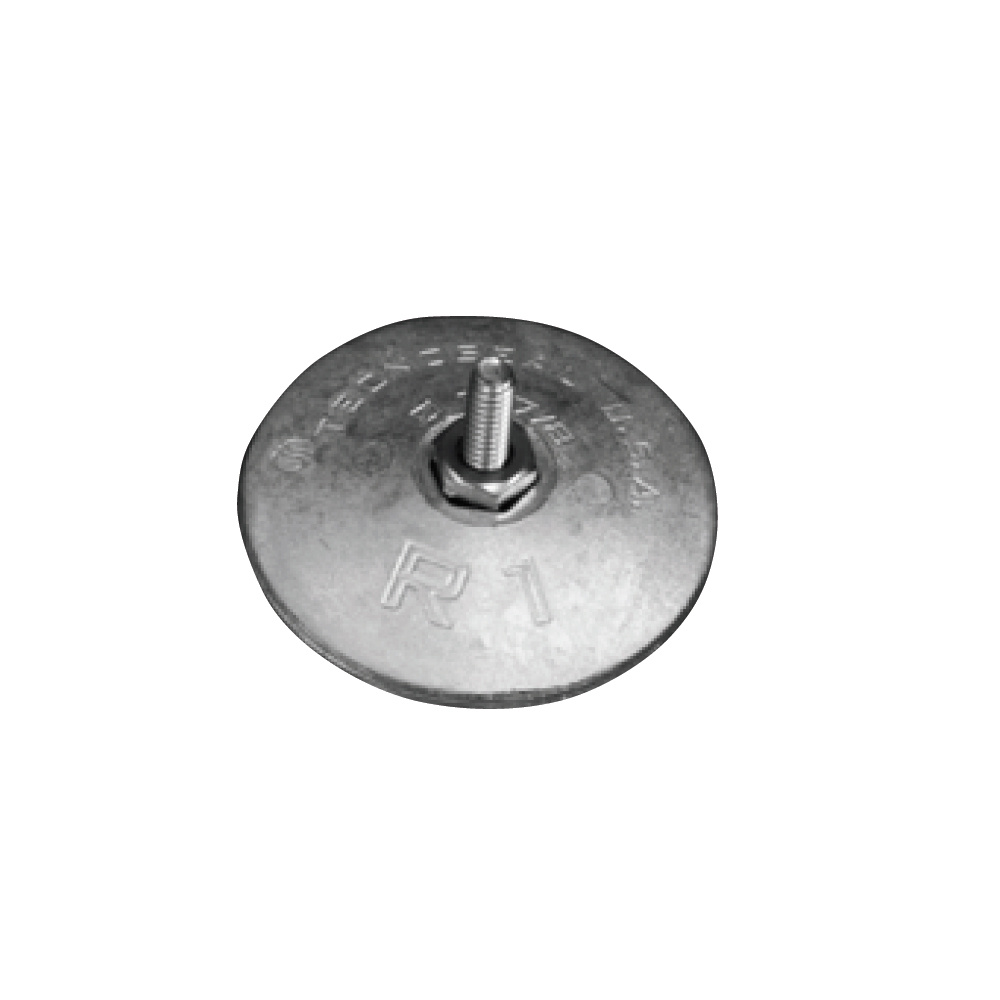 Disc Anode (pair) for Rudder 47mm - Magnesium