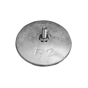 Disc Anode (pair) for Rudder 72mm - Magnesium
