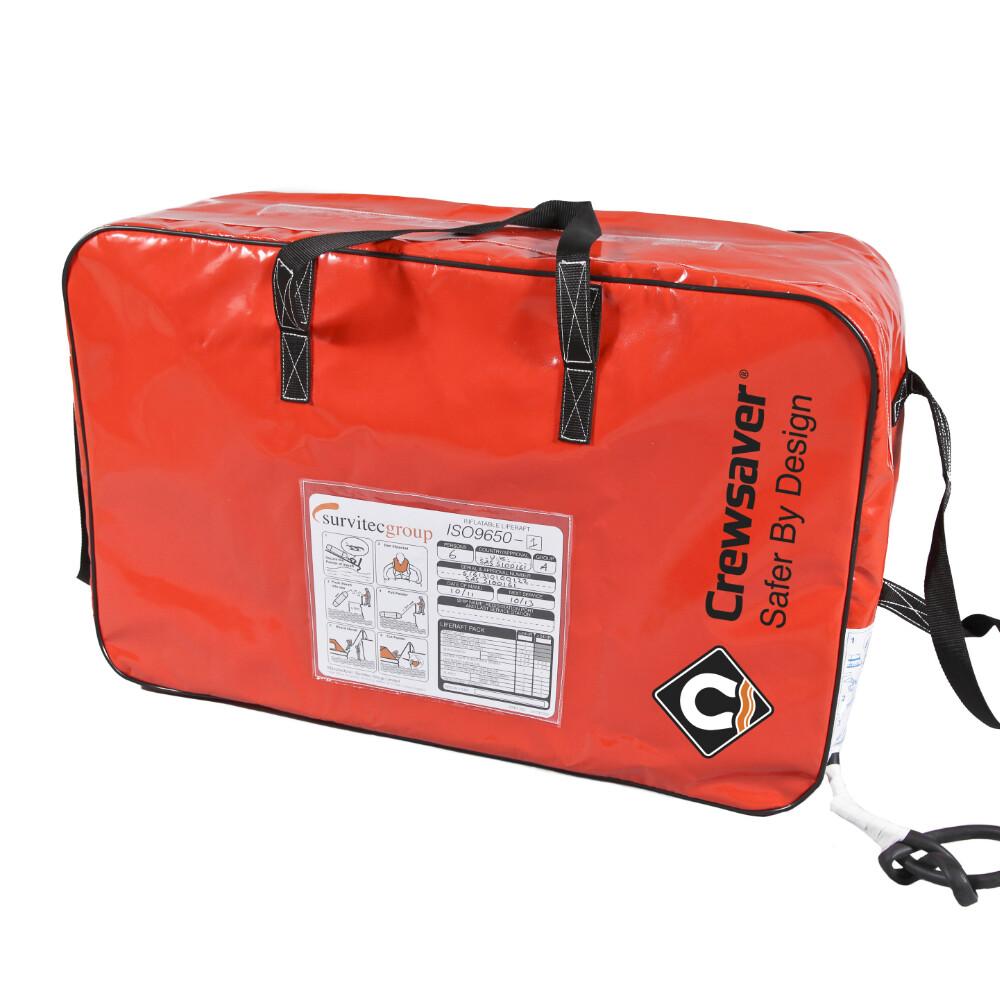ISO Ocean Liferaft (24H+ Pack)