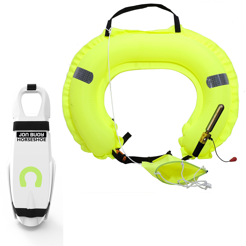 Inflatable Horseshoe - Hard Case