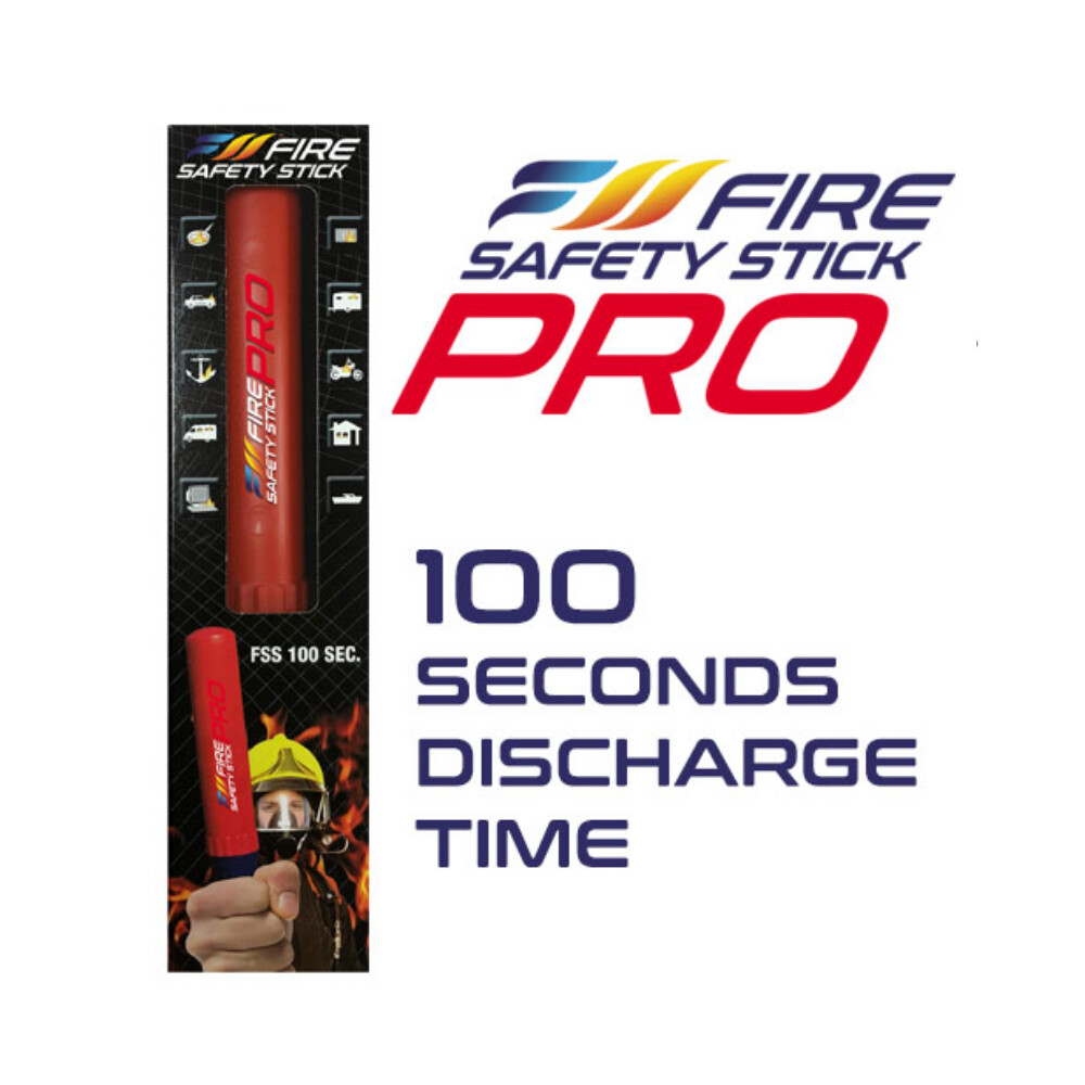 Fire Safety Stick Pro Extinguisher - 100 Seconds