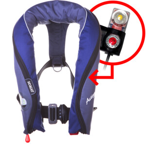Active 190N Lifejacket Auto Harness with Light