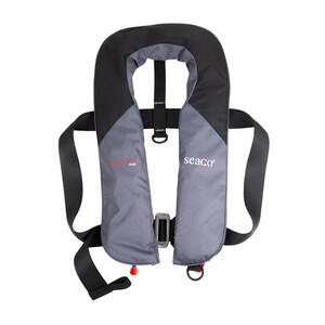 Seaguard 165N Lifejacket Automatic/Harness Grey/Black