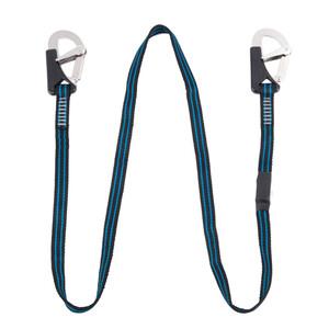 2 Hook Safety Line Black