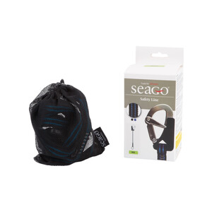 1 Hook & Cowhitch Safety Line Black