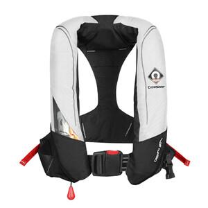 Crewfit 180N Pro Auto Lifejacket - White Black