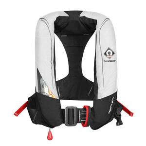 Crewfit 180 Pro Auto Harness - White Black
