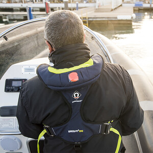 Ergofit+ 190N Hammar Auto + Harness Lifejacket