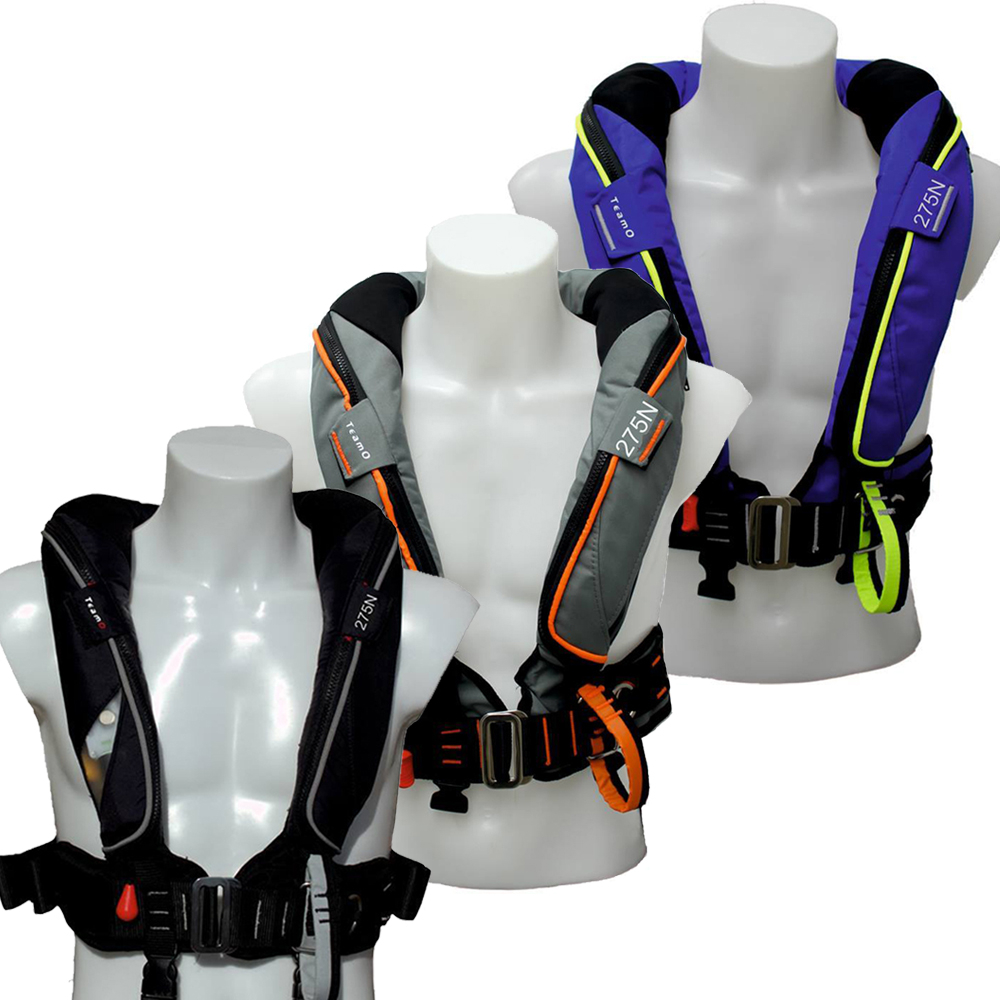 Ocean Backtow 275N Automatic Lifejacket
