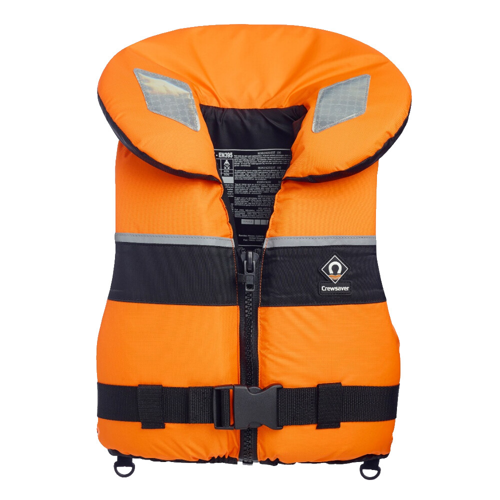 Spiral 100N Adult Lifejacket Orange