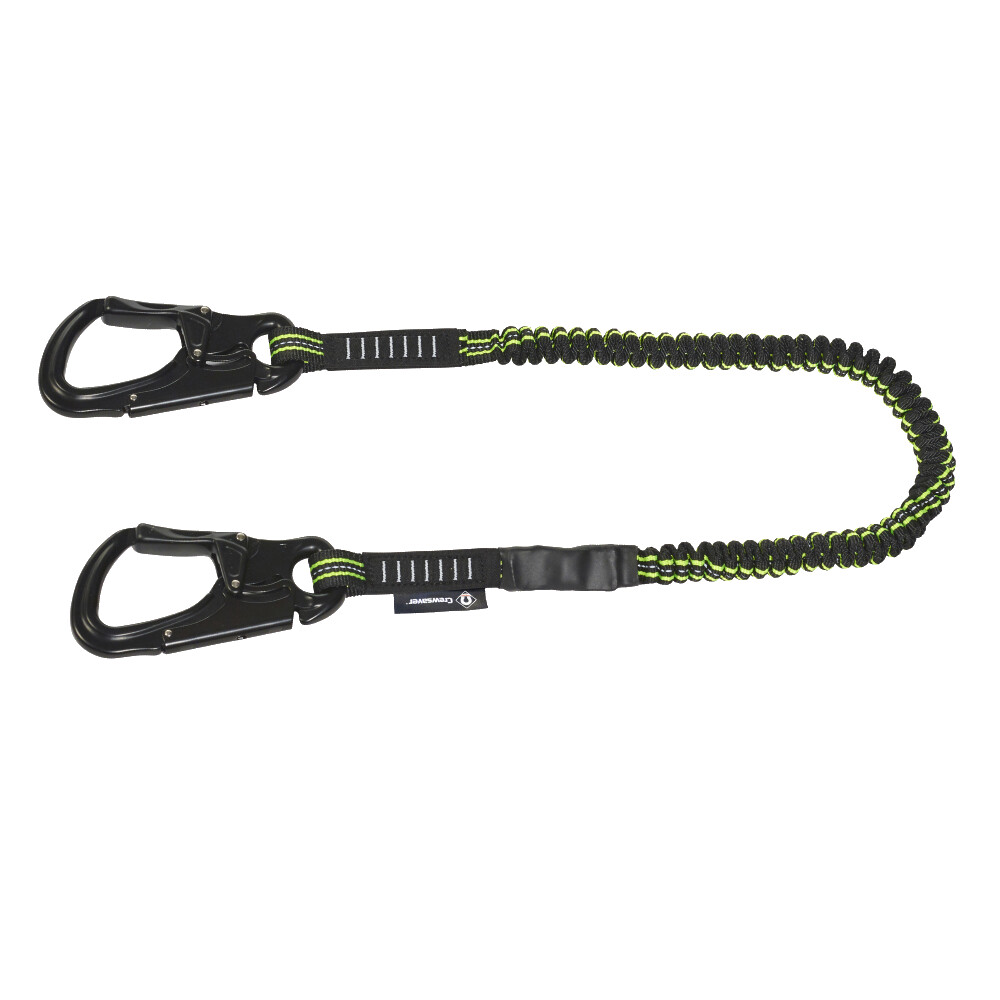 CREWLINE Pro Double Hook Elasticated Safety Line