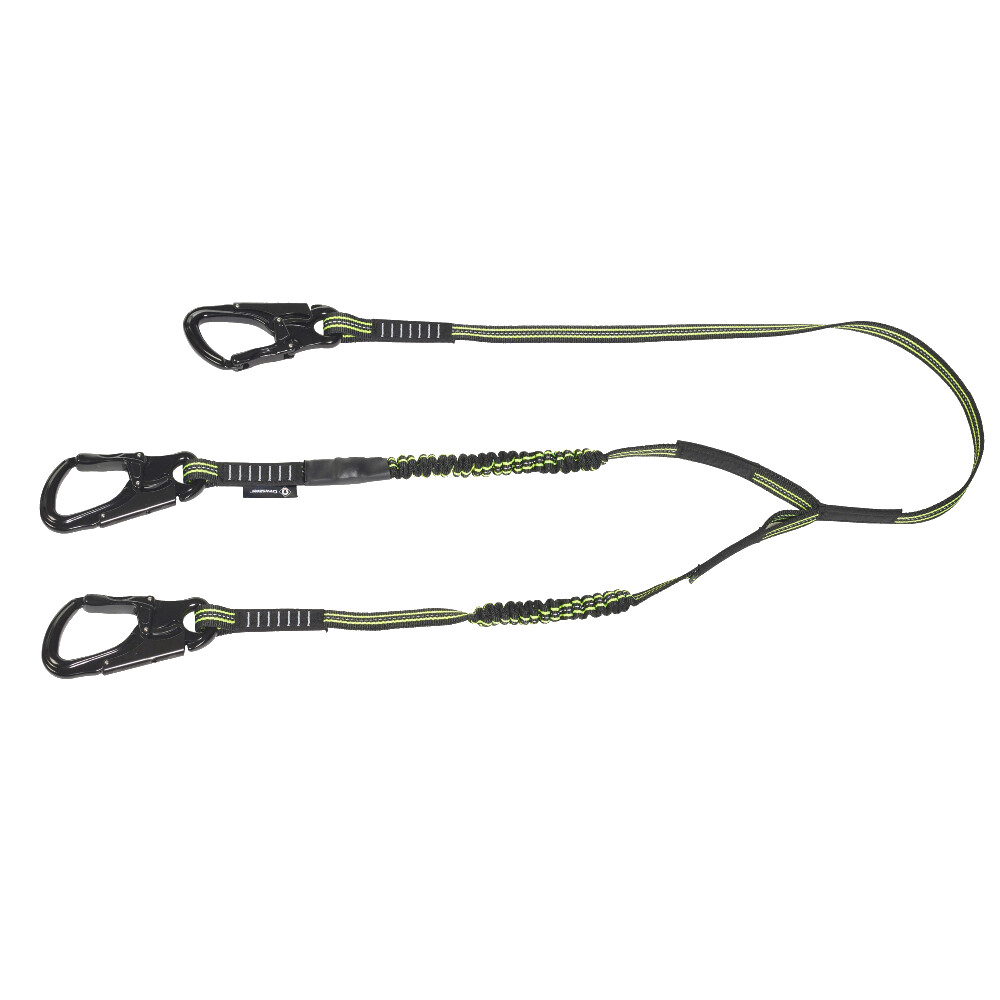 CREWLINE Pro Triple Hook Elasticated Safety Line