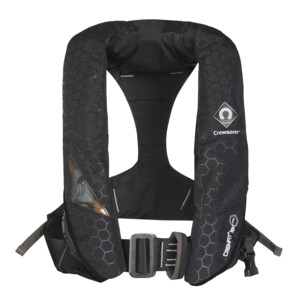 Crewfit Plus 180N Pro Auto/Harness Life Jacket with Hood & Light
