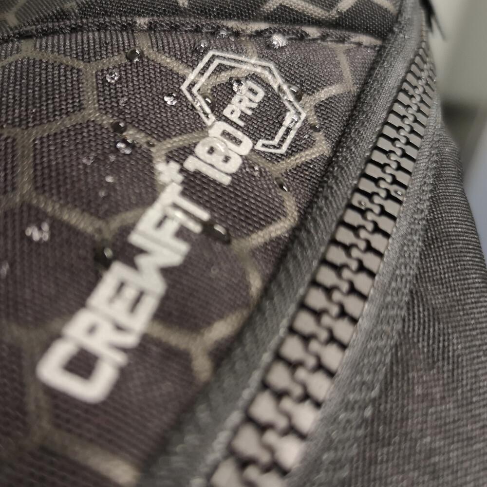 CREWFIT Plus 180N Pro Auto Harn Black Inc Hood & Light