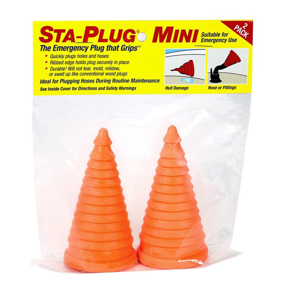 Sta-Plug Mini Emergency Plug (2 Pack)