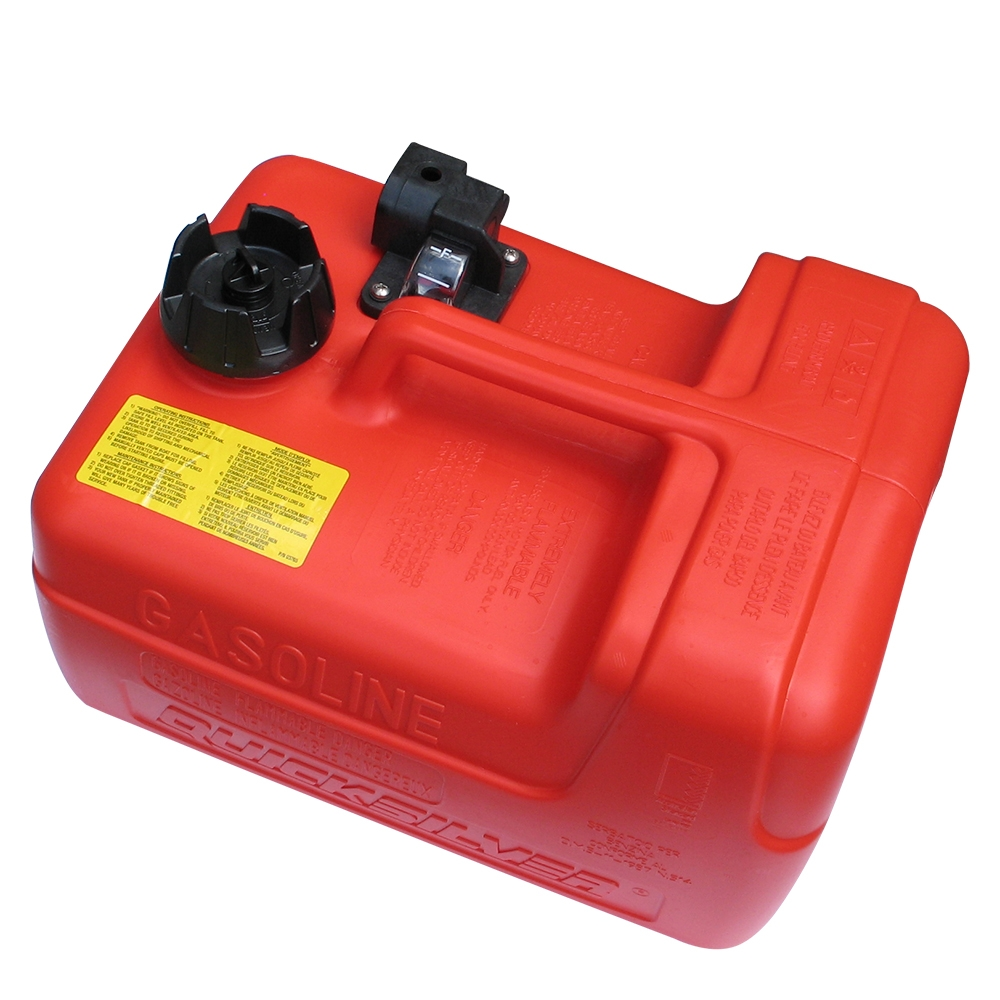 12L Portable Fuel Tank With Quick Connect Outlet