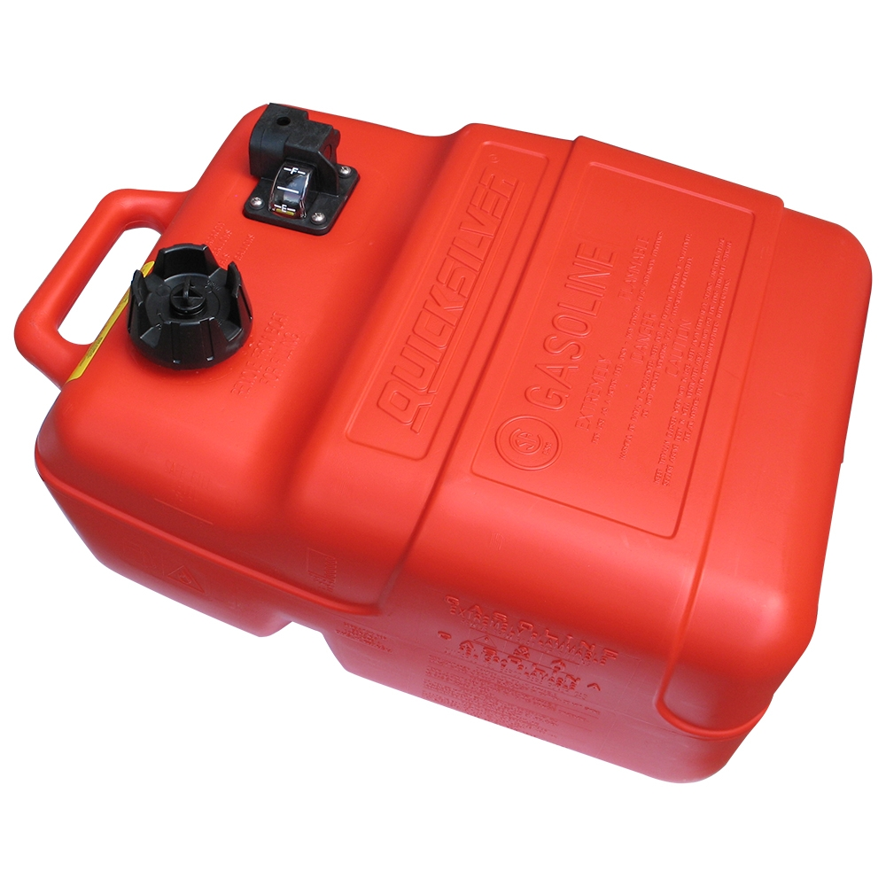 25L Portable Fuel Tank With Quick Connect Outlet