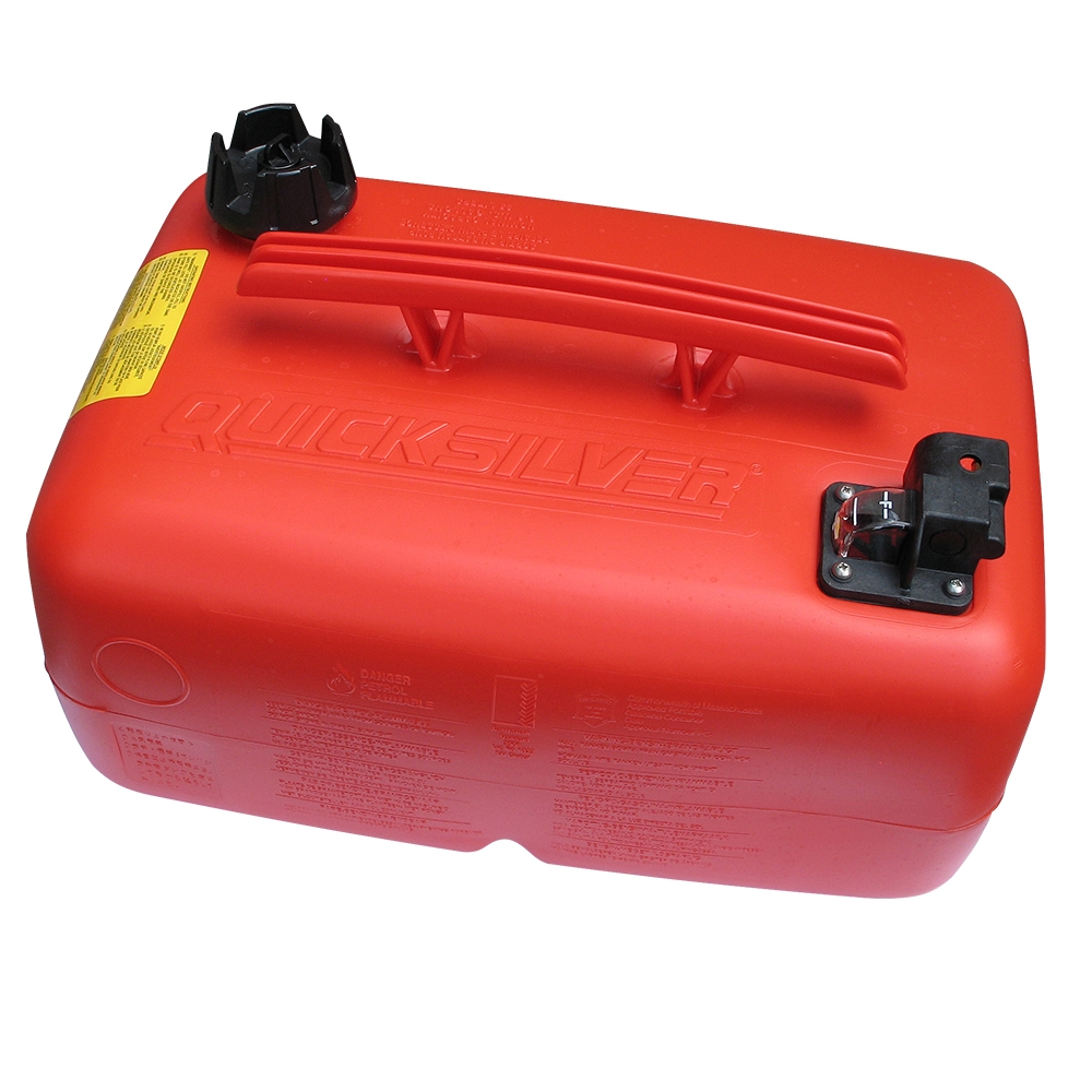 25L Top Handle Portable Fuel Tank With Quick Connect Outlet
