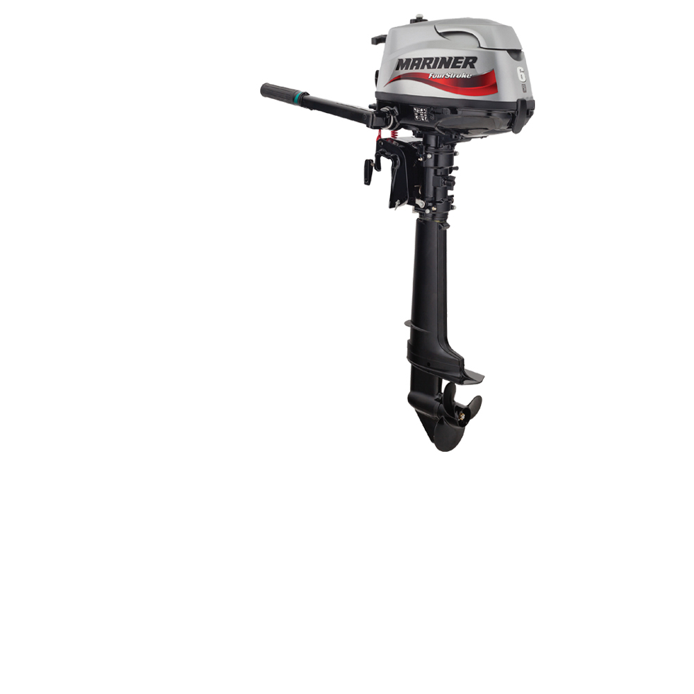 4-Stroke 6hp Longshaft Outboard Engine