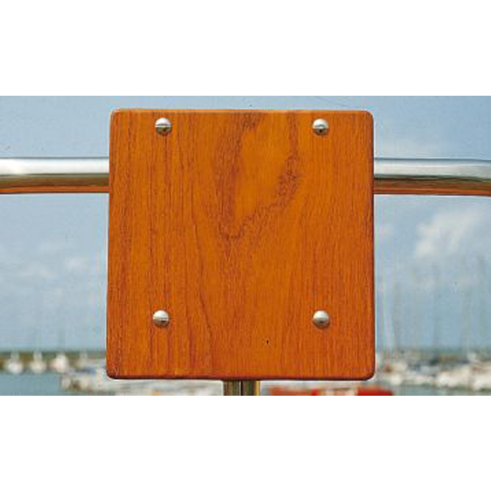 Teak Outboard Bracket