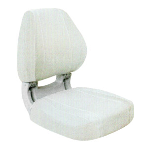 Sirocco Deluxe Folding Seat White