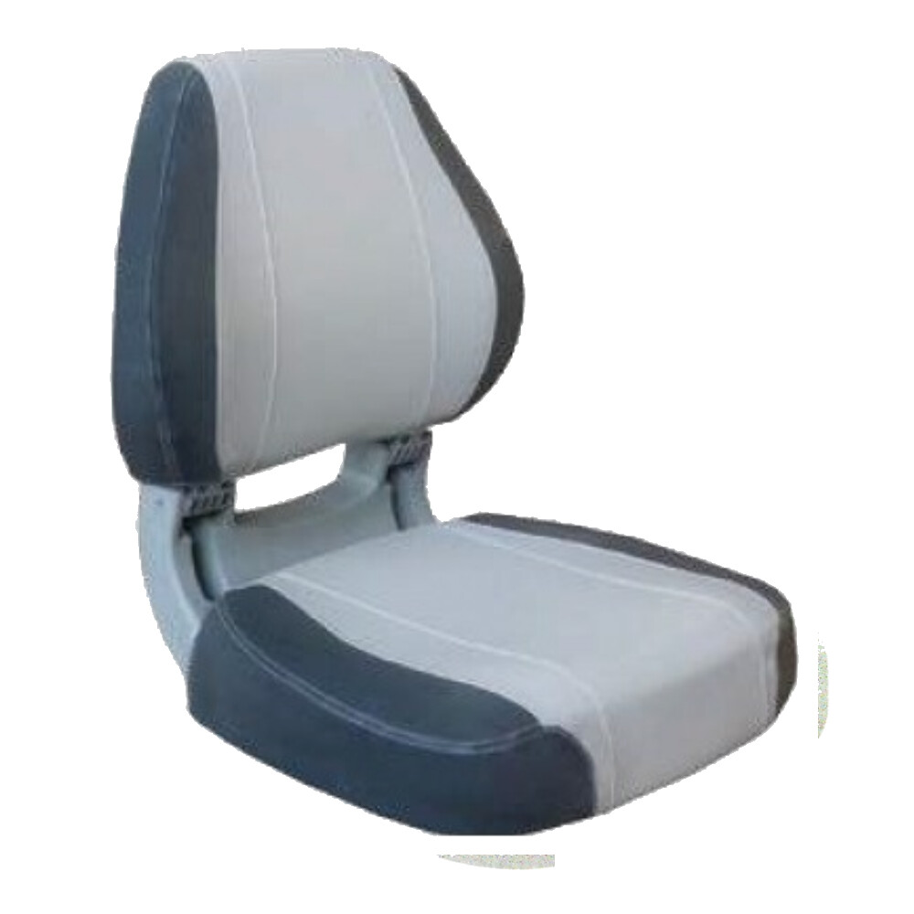 Sirocco Deluxe Folding Seat Light Grey/Dark Grey
