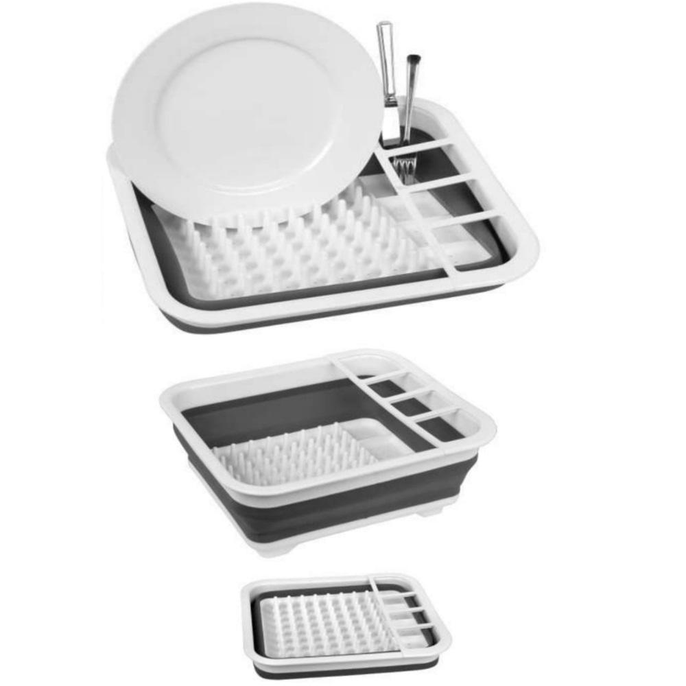 Collapsible Dish Draining Rack