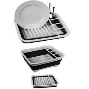 Collapsible Dish Draining Rack