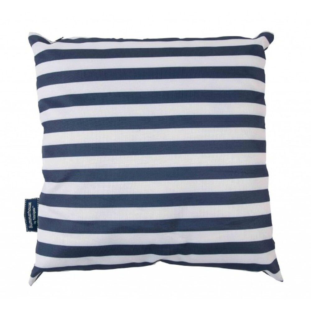 Coast Showerproof Cushion Navy/White