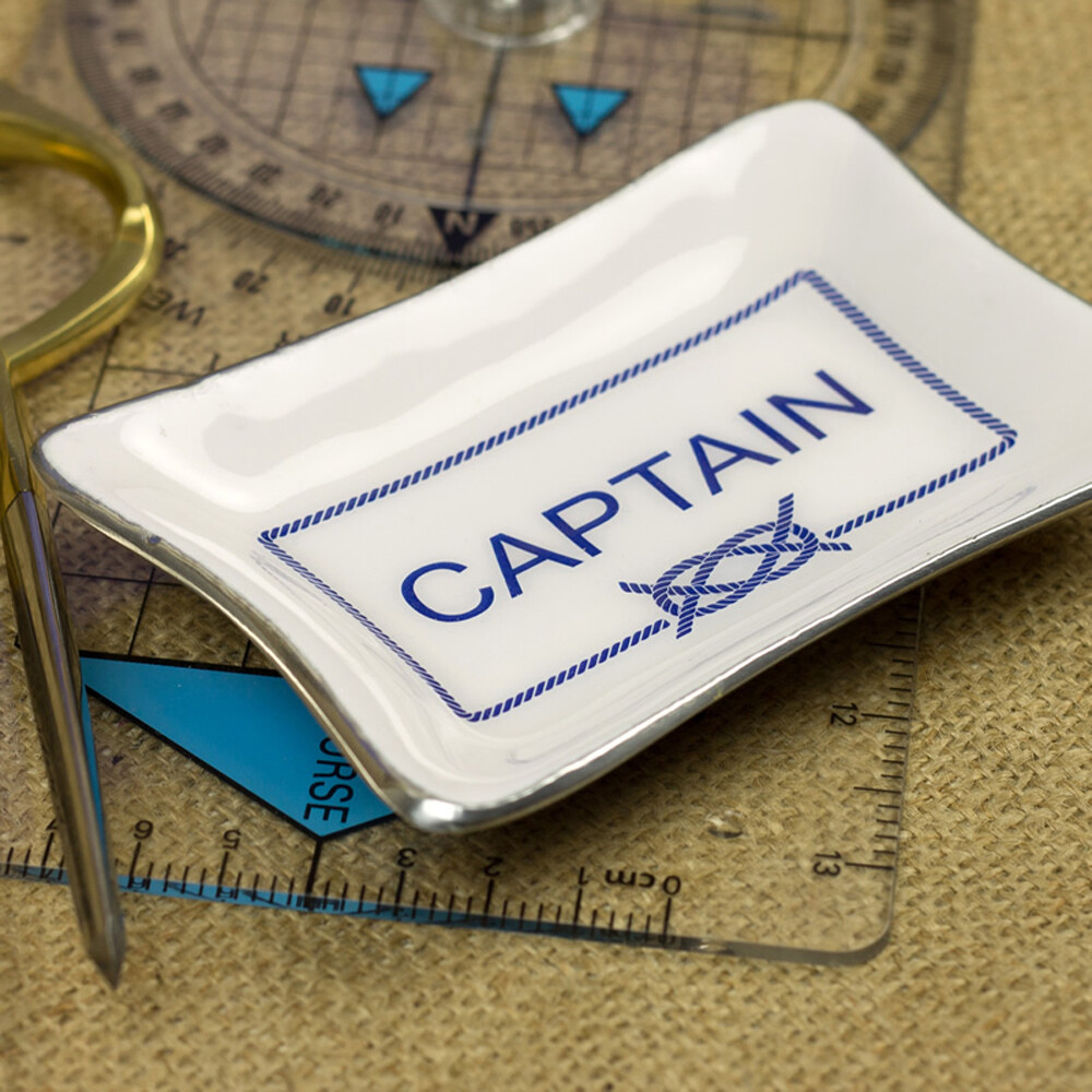 Enamel Mini Tray - Captain
